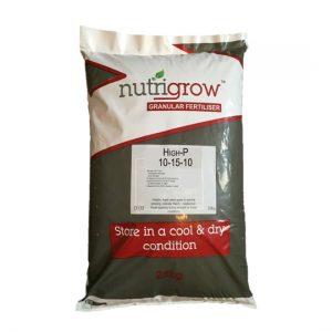 Nutrigrow 10-15-10 High P Fertiliser 25kg