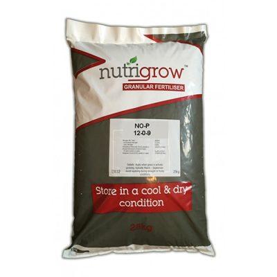 Nutrigrow 12-0-9 No-P Fertiliser 25kg