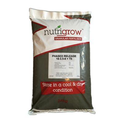 Nutrigrow 18-3.5-8+1Mg Phased Release Fertiliser