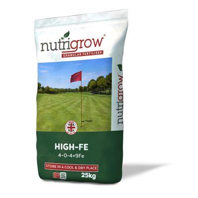 Nutrigrow 4-0-4+9FE High Fe Fertiliser 25kg