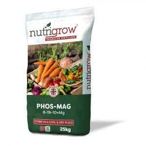 Nutrigrow 8-19-10+5Mg Phos Mag Fertiliser 25kg