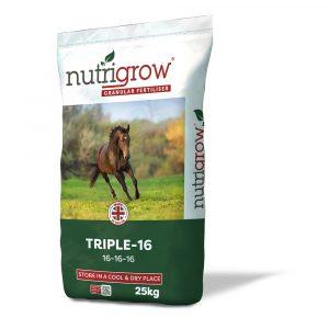 Nutrigrow 16-16-16 Triple 16 Fertiliser - 25kg