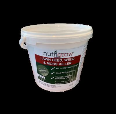 Nutrigrow Feed, Weed & Moss Killer 5kg